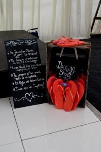 Wedding reception Dorset