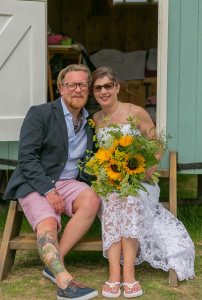 Farm wedding Dorset