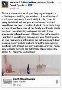Wedding Planning Recommendation Dorset