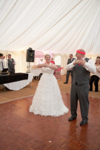 Wedding dance Dorset