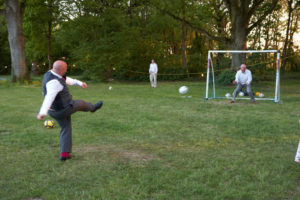 Wedding Football Dorset