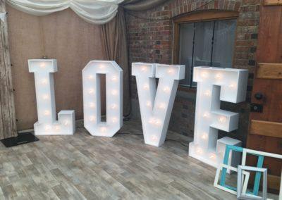 LOVE letters Dorset